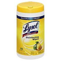 Lysol Toallitas Desinfectantes - Limón Y Flor De Cal Olor: 8