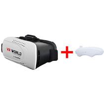 Lente Realidad Virtual 3d Vr-world Gafas Techpad + Control