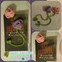 Separador De Libro Tejido A Crochet: Rosa