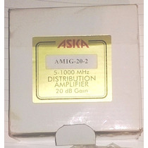 Amplificador De Señal Tv Cable Internet Facil Conexion