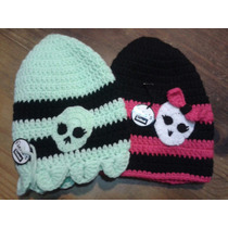 Monster High Gorros Tejidos