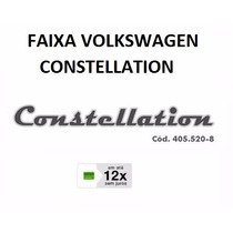 Faixa Tapa Sol Caminhão Vw Constellation (12x Sjuros)
