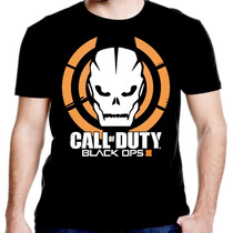 Camiseta Manga Curta Call Of Duty Ref=451