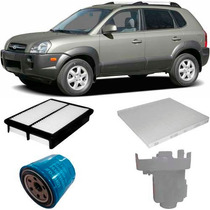 Kit Filtros Troca Oleo Hyundai Tucson 2.0 Gasolina 2006 A 12