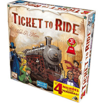 Board Game - Ticket To Ride - Em Português