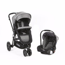 Coche Kiddy Compass Plus Jogger 3 Ruedas Travel Systems