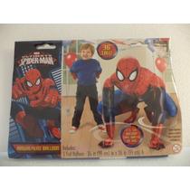 Globo Metalico Fiestas Spiderman Helio Airwalkers