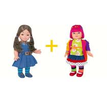 Boneca Chiquititas Laura + Mili 42 Cm - Cotiplás Promoção
