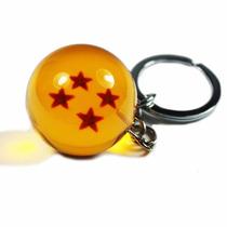 Llavero Esfera De 4 Estrellas Dragon Ball