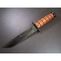 Ka5018 Ka-bar Usmc Full Size Knife Punta Clip Combo