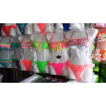 Bikinis Por Mayor X 6 Unidades De Dos Y Tres Piezas