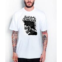 Camisa Camiseta Suicidal Tendencies Caveira - Exclusiva