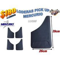 Juego De 4 Loderas Pick Up Y Camioneta Mercurio Lo305