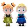 Anna + Elsa De Frozen Nenas 27cm Con Música Cantan Let It Go