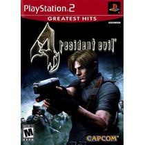 Game Resident Evil 4 Ps2 - Americano - Completo Lacrado!