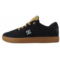 Tênis Dc Shoes Masculino Feminino Preto Marrom Original Novo