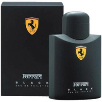 Perfume Masculino Ferrari Black 125ml 100% Original