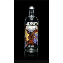Play Absolut Hibiskus 750ml Original Edición Limitada