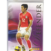 2010 Futera Lee Young Pyo Korea Defender