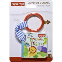 Livro De Passeio Fisher Price - Animais Felizes