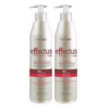 Kit Effectus Pos Coloração Nutra Hair 500ml Hidratação Capil