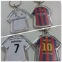 Llaveros De Barcelona Y Real Madrid