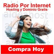 Radio X Internet 200 Users 32 Kbs + Hosting Y Dominio Gratis