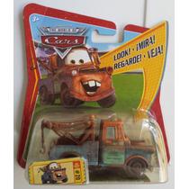 Carrito Cars Grua Mate Mattel Disney Pixar