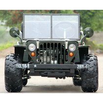 Cuatriciclo Atv Titan Jeep Willys 110 Cc