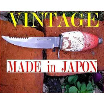 Cuchillo Pesca Acero Japones Años 50 Flota No Mailhos Broqua