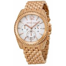 Reloj Michael Kors Pressley Oro Rosa Cronógrafo Mujer Mk5836