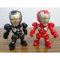 Caixa De Som Iron Men Homem De Ferro Mp3 Pendrive Fm Lu15 Pt
