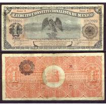 Mi-chi-68 Billete De Chihuahua De 1 Pesos