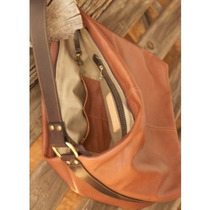 Bolso Hollister Large Hobo Bag Carry Encubierto Brown