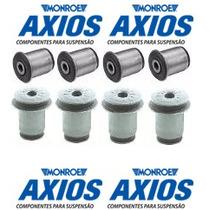 Kit 8 Buchas Balança Superior Inferior Blazer E S10 - Axios