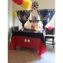 Manteles Para Fiestas De Material Pop Mickey Mouse
