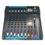 Omx62 - Mesa De Som / Mixer 6 Canais C/ Usb Omx 62 - Oneal