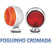 Lanterna 3 Maria Caminhão Carreta Cromada Nova