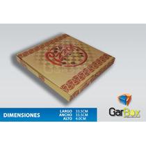 Cajas Para Pizza Desde 50 Piezas!!!! !!