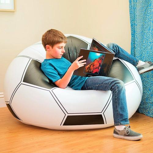 Sill n descanso bal n f tbol inflable 68557 intex silla - Sofas de descanso ...