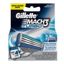 Carga Mach3 Turbo Para Barbear Gillette