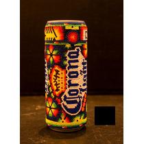 Primer Bote De Cerveza Corona Light En El Mundo Arte Huichol