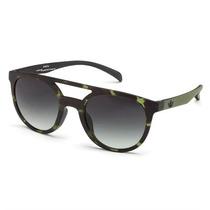 Óculos De Sol Adidas Originals Havana Verde Lente Verde