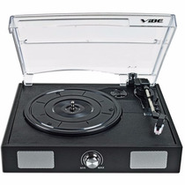 Torna Mesa Vibe Sound Vs-2002-spk Usb Turntable Tornamesa