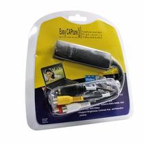 Tarjeta Capturadora Audio Y Video Usb Externo Easy Cap Rca