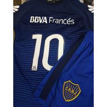 Camiseta 3er Nueva+ Short Niño Alternativa Boca/juniors/2016