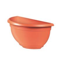 Kit 3 Vasos De Parede Cor Ceramica Jardim Vertical