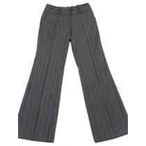 Pantalón De Vestir Mujer Gris Nuevo Talle M