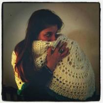Ruana Poncho Tejido Al Crochet