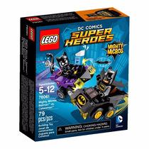 Lego 76061 Super Heroes Mighty Micros Batman Vs Mulher Gato